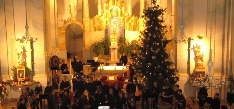 Musikverein Grafenrheinfeld SBO JBO Youngsters Weihnachtskonzert 2015