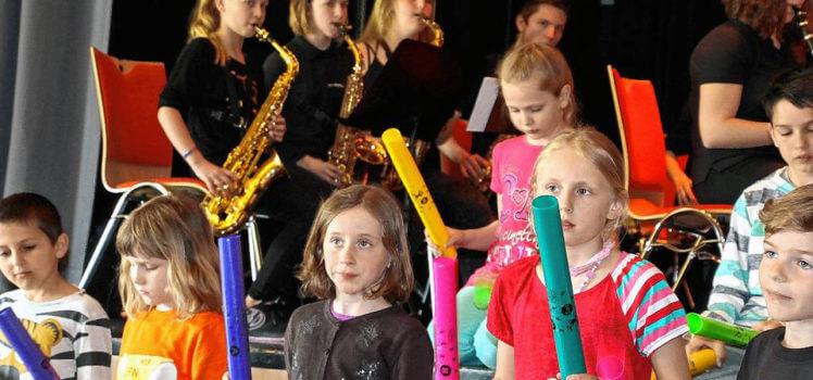 Musikverein Grafenrheinfeld Nachwuchskonzert der Youngsters und des JBO