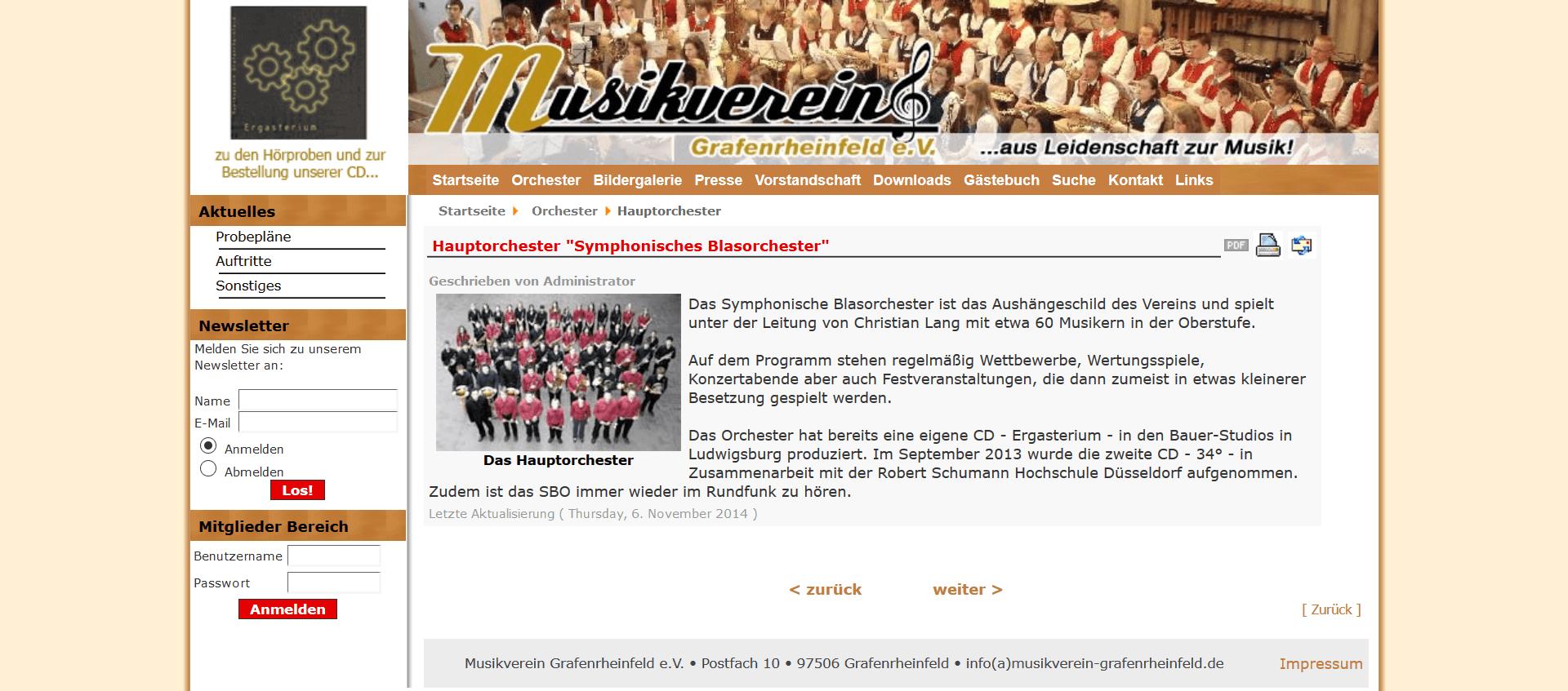 Musikverein Grafenrheinfeld Youngsters und JBO