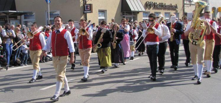 Musikverein Grafenrheinfeld SBO Kirchweih Rafeld Erntedankumzug
