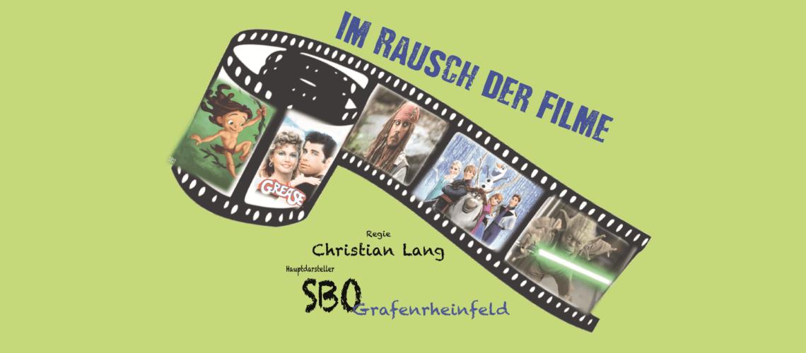 Musikverein Grafenrheinfeld SBO Themenkonzert 2016 Im Rausch der Filme