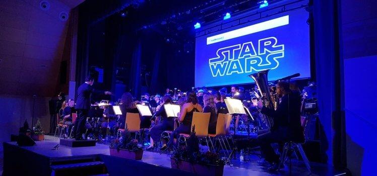 SBO Grafenrheinfeld Herbstkonzert Im Rausch der Filme 2016 Star Wars
