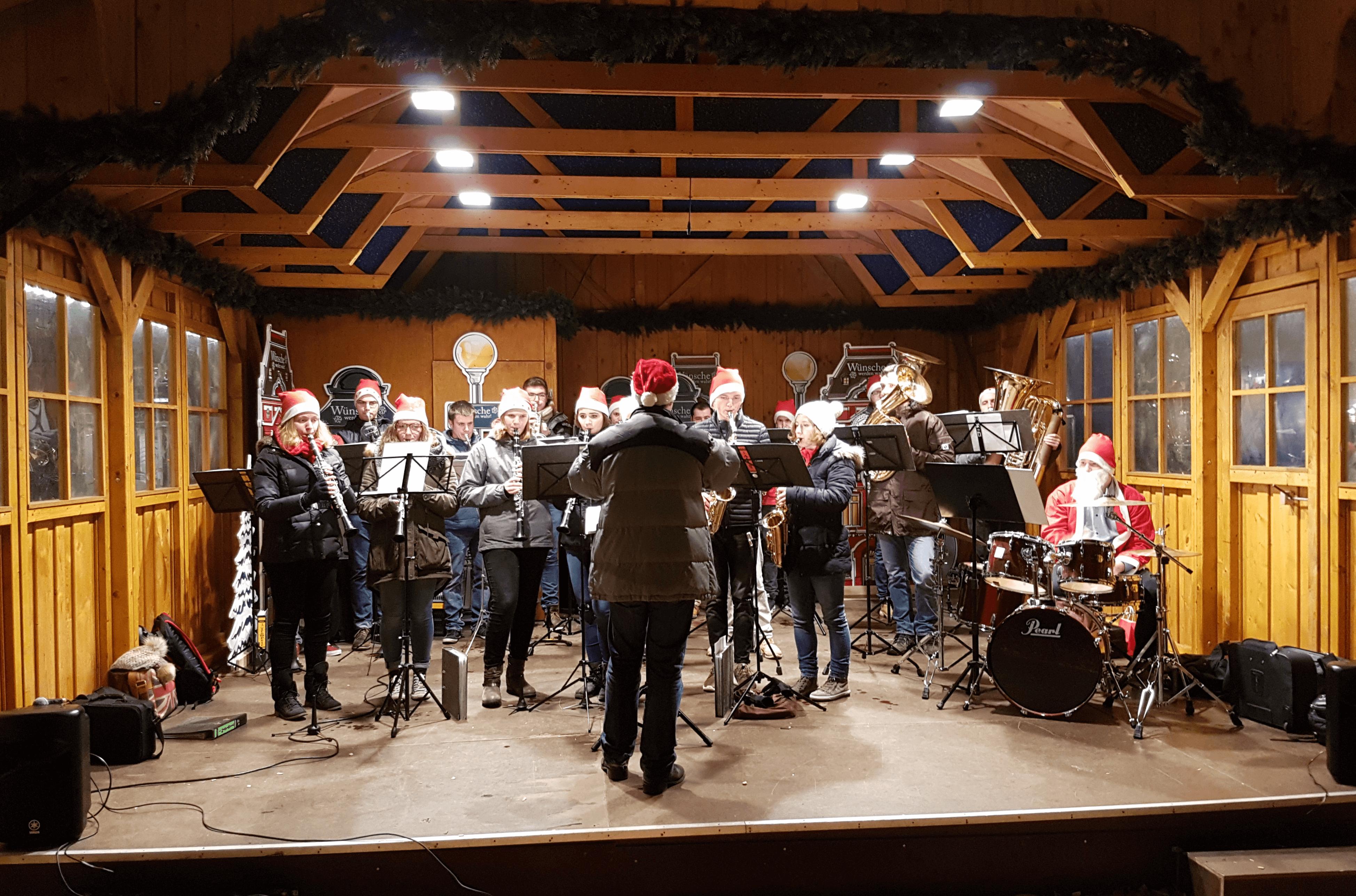 Musikverein Grafenrheinfeld Weihnachtsmarkt Schweinfurt