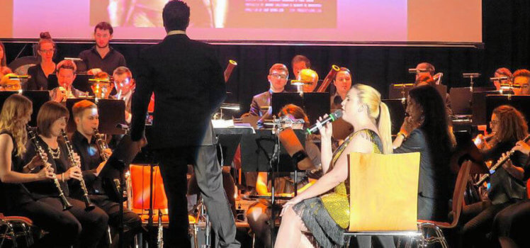 Musikverein Grafenrheinfeld SBO Im Rausch der Filme Anne Kulawik Christian Lang