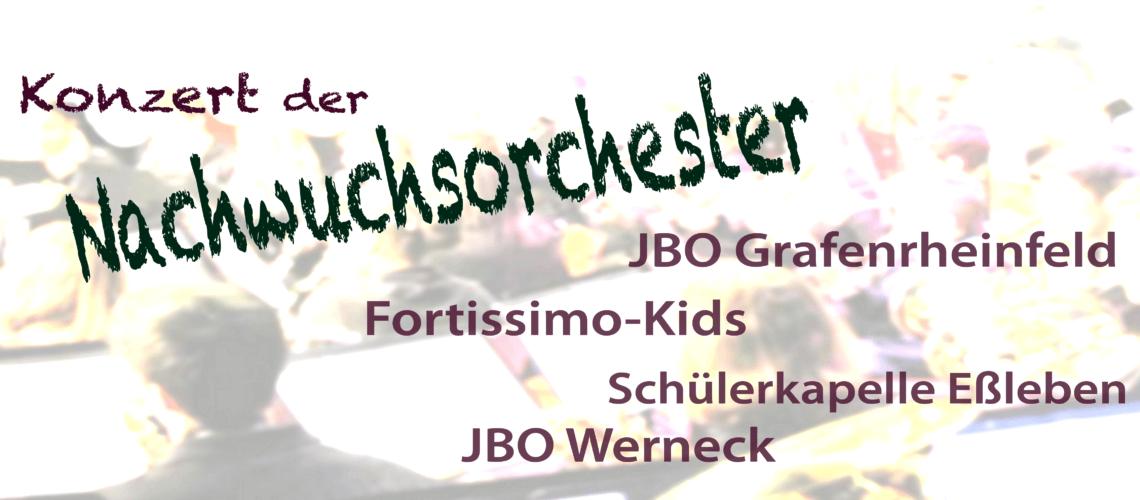 Konzert der Nachwuchsorchester 2017 JBO Youngsters Schweinfurt Nachwuchsorchester