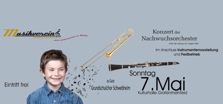 Nachwuchstag 2017 Familienfest Musikverein Grafenrheinfeld JBO Youngsters Grundschule Chor Schwebheim
