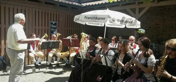 Musikverein Grafenrheinfeld Blasmusik Frühschoppen Alte Amtsvogtei Rafelder Musikanten