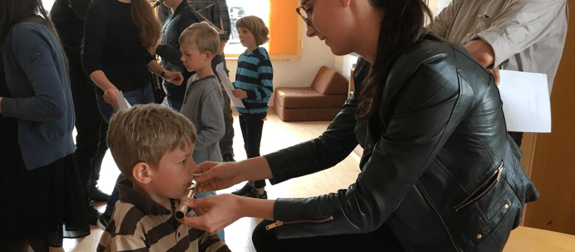 Musikverein Grafenrheinfeld JBO Jugendblasorchester Grundschule Grundschulchor Chor Schwebheim Nadia Stolper