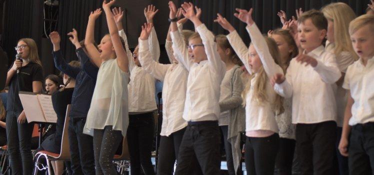 Musikverein Grafenrheinfeld JBO Jugendblasorchester Grundschule Grundschulchor Chor Schwebheim