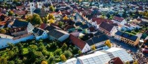 Musikverein Grafenrheinfeld Rafelder Musikanten Kirchweih Kirm 2017 Stefan Meyer Panorama Drohne