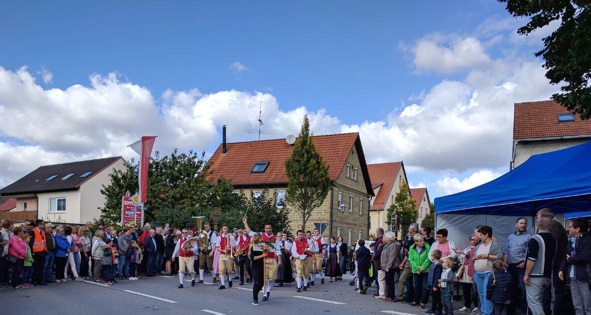 Musikverein Grafenrheinfeld Rafelder Musikanten Christian Lang Kirchweih Kirm 2017