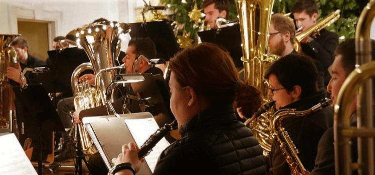 Mainpost Weihnachtskonzert Nachwuchsorchester Symphonisches Blasorchester Grafenrheinfeld Weihnachten