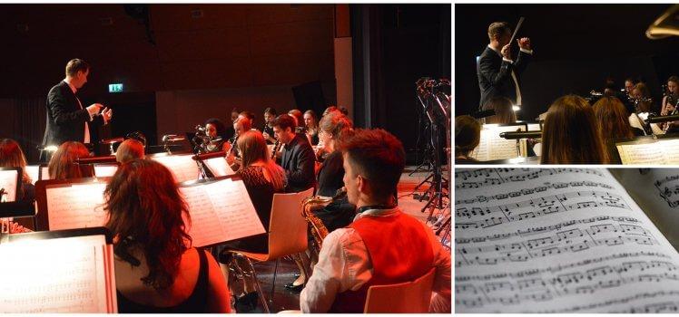 Musikverein Grafenrheinfeld Raphaell Schollenberger Dirigent SBO Symphonisches Blasorchester Schweinfurt Franken Musik Konzert Kulturhalle