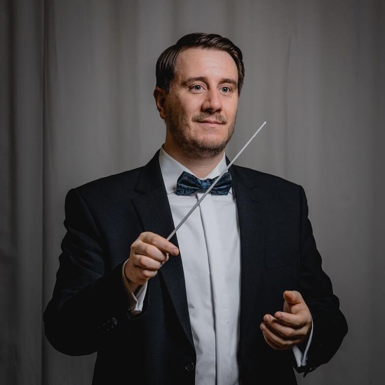 Raphael Schollenberger Dirigent Symphonisches Blasorchester SBO Musikverein Grafenrheinfeld Schweinfurt