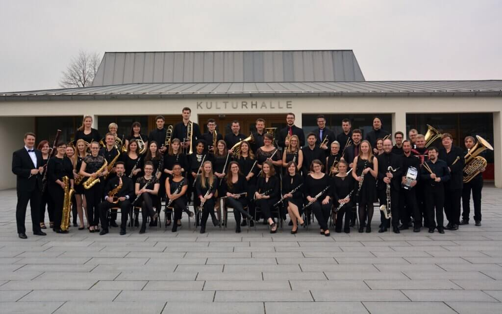 Musikverein Grafenrheinfeld Kullturhalle SBO Symphonisches Blasorchester Kulturhalle Grafenrheinfeld Schweinfurt Musik Instrumente Konzert