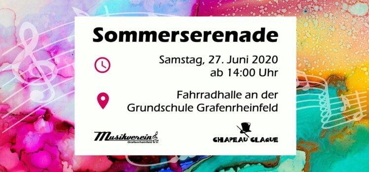 Musikverein Grafenrheinfeld Serenade Fahrradhalle Blasmusik Chapeau Claque Cocktails SBO