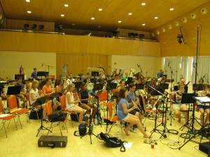 Symphonisches Blasorchester SBO Grafenrheinfeld CD Aufnahme 34°