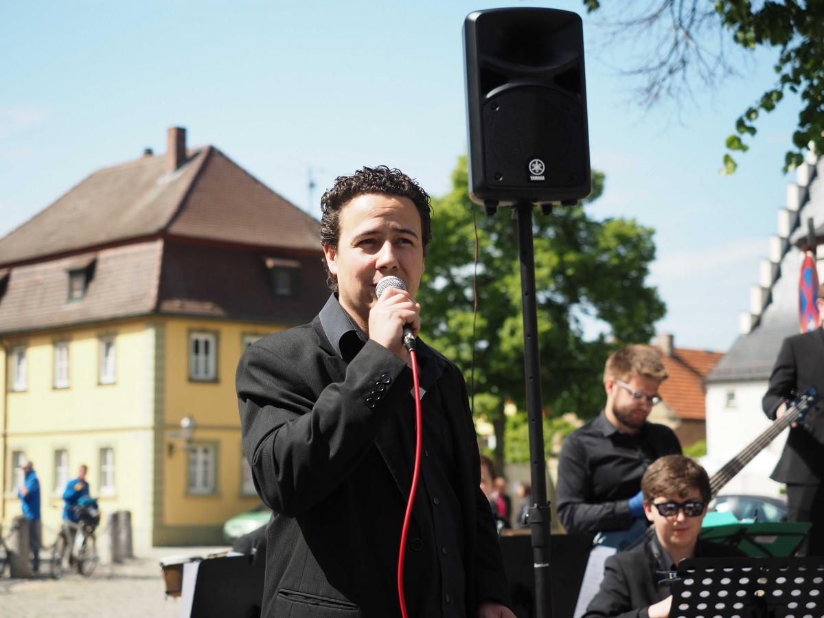 Musikverein Grafenrheinfeld Schweinfurt Christian Lang Dirigent Orchester SBO Symphonisch Abschied Interview